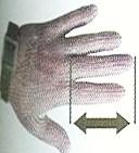 tamaño guante